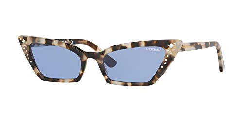 - Vogue SUPER VO 5282SB BY GIGI HADID GREY HAVANA/BLUE 54/18/140 women Sunglasses