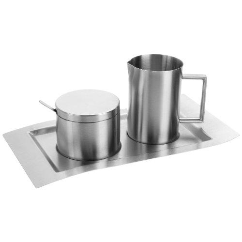 Esmeyer 400-1655 4-teiliges Milch und Zucker Set