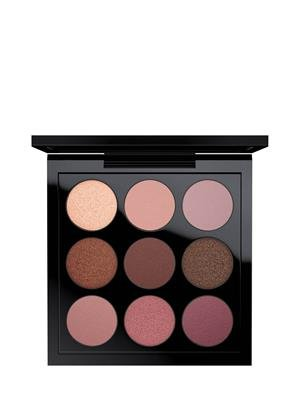 MAC EYESHADOW PALETTE # BURGUNDY TIMES NINE