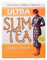 Ultra Slim Tea-Honey Lemon Hobe Labs 24 Bag (Herbal Lemon Ginseng Honey)