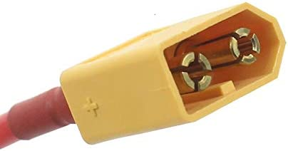 Color : Lavender IENPAJNEPQN XT60 connecteur Femelle//m/âle 10CM XT60 Batterie Homme Femme Connecteur avec Silicone 14 AWG for LIPO