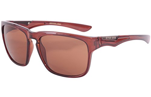 Style Eyes Optics Eclipse Brown sunglasses, Crystal Brown, One - Sunglasses Eclipse