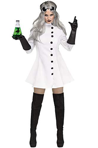 Fun World Women's Mad Scientist, Multi, Size M 8-10