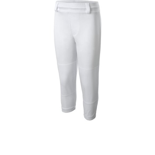 Easton Pro Pull Up Baseball Pants, White (X-Large)