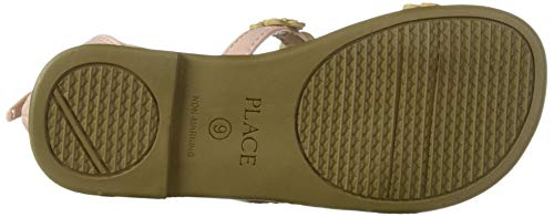 The Children's Place Girls' Sandal, Pink, Youth 5 by The Children's Place (Image #3)