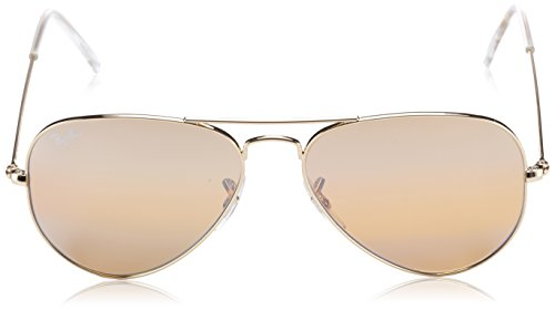 Ban Gsm 55 de Lunettes Ray Aviator mm Soleil Metal Aviator Gold RB3025 Yellow Photo AdOwqFpw