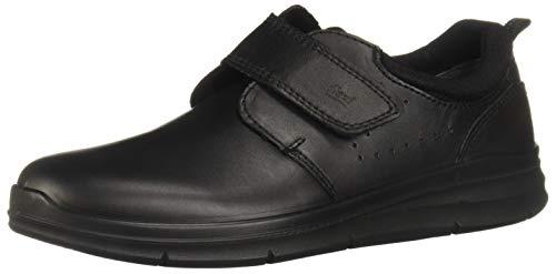 Flexi Marvel 67402 Zapatos de Cordones Brogue para Niños, Color Negro, 22.5