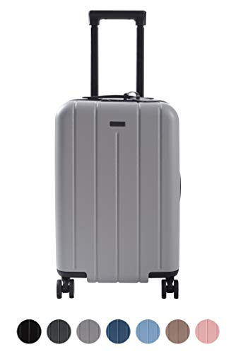 Carry On Luggage Lightweight Suitcase Spinner (Grey) for sale  Delivered anywhere in USA