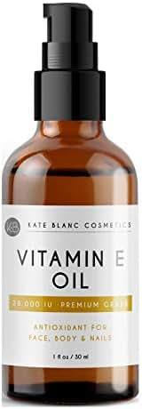 Facial Treatments: Kate Blanc Vitamin E Oil