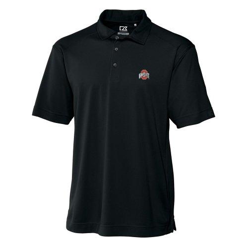 NCAA Men's Ohio State Buckeyes Black Drytec Genre Polo Tee, X-Large ()