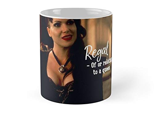 Regina Mills The Evil Queen Once Upon A Time Regal Definition 11oz Mug - Best gift for family -