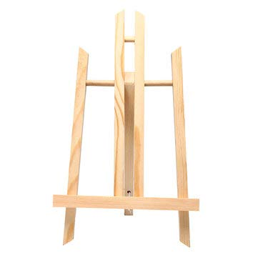 SumoTik Wood Wooden Easels Display Tripod Artist Painting Stand Paint Rack - Tools & Home Improvement Hand Tools - (#02) -