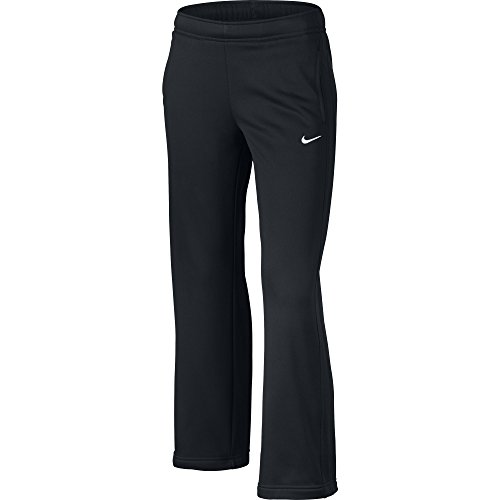 Girl's Nike KO 2.0 Fleece Training Pants Black/White Size Medium
