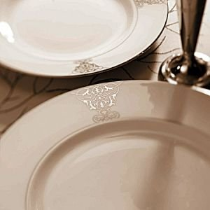 Vera Wang Imperial Scroll Platter 13 Inch Serving -