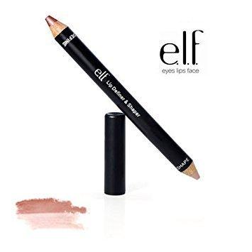 2 Pack e.l.f. Cosmetics Studio Lip Definer & Shaper 82301 Natural / Nude (Lip Definer Liner)