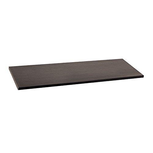 Organized Living freedomRail Wood Shelf, 48-inch x 12-inch - Midnight Live