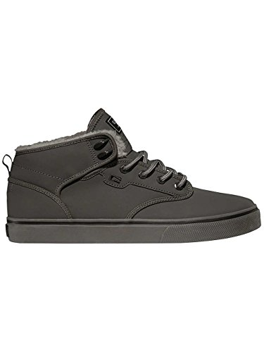 Grey Globe Charcoal homme Motley Mid montantes Fur Chaussures wqX1YqTxr