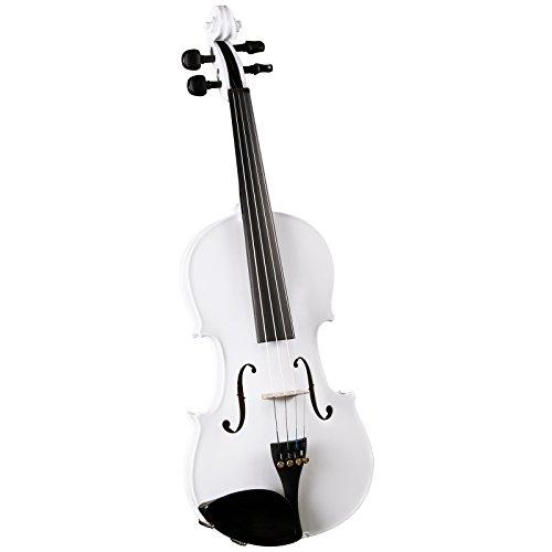 Cremona SV-75 Premier Novice Violin Outfit - Sparkling White - 4/4 Size by Cremona
