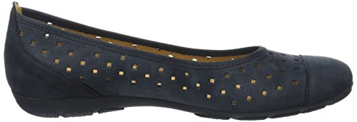 Womens Ruffle Shoes Blue 44 Gabor Nightblue 169 16 ZTdAq7x
