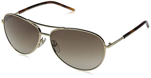 (Marc Jacobs Marc59s Aviator Sunglasses, Gold/Brown Gradient, 59 mm)