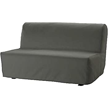 Amazon Com The Heavy Cotton Lycksele Lovas Sofa Bed Cover Replacement Is Custom Made For Ikea