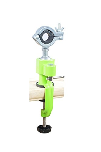 360° Bench Clamp Vises Universal DIY Bench Vise Swivel Tabletop Clamp Grinder Holder Electric Drill Stand Holder for Woodworking