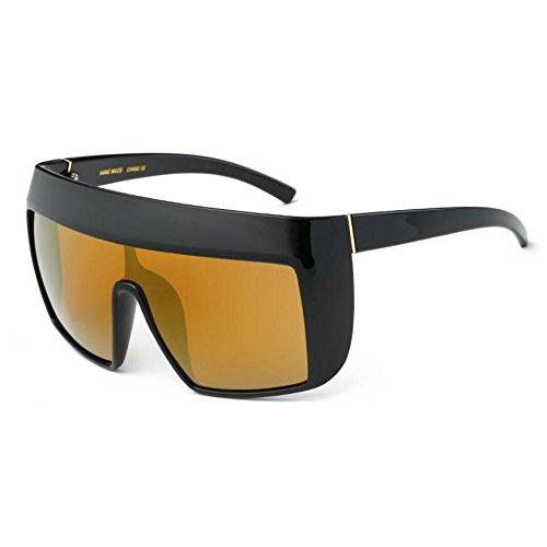C5 KXLEB Retrobrille Acetat Top C7 Sonnenbrille Flat Sonnenbrille Frauen Quadrat Oversize xwBvxZT