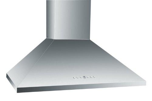 Z Line KL2-30-LED Stainless Steel Wall Mount Range Hood, 30-Inch