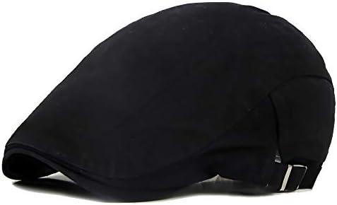 野球帽 キャスケット メンズ ハット ゴルフ 綿 調整可能 ソフト クラシック ハンチング 57-62cm LWQJP (Color : 4, Size : Free size)