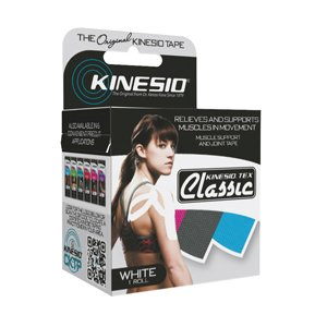 Kinesio Tape, Tex Classic, 2'' x 4.4 yds, White, 1 Roll