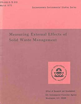 Measuring External Effects of Solid Waste Management