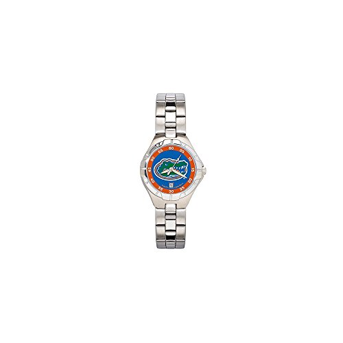 Security Jewelers UNIV of Florida Gator Head PRO II Woman's Bracelet Watch,