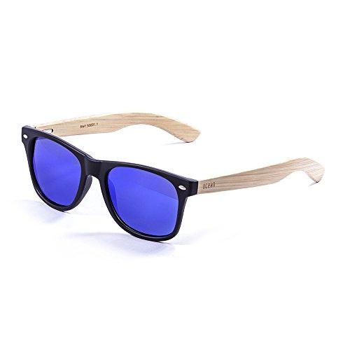 Bambou Revo en 50001 Verres wood Bleu beach Monture lunettes Ocean 1 soleil Bambou Sunglasses de TwYqPOx0O