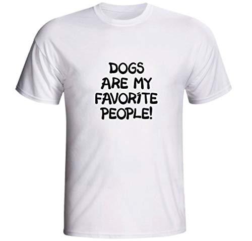 Camiseta Dogs Are My Favorite People Cahorros Pessoas