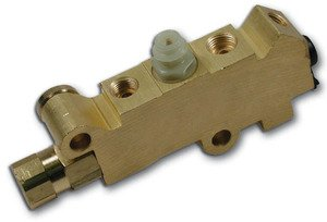 Disc Proportioning Valve - MBM-PV2-GM Disc/Drum Proportioning Valve - Brass