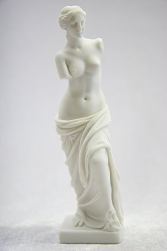 """6 1/2"""" Nude Naked Venus De Milo Aphrodite of Milos Greek Goddess of Love and Beauty Statue Sculpture Figurine Made in Italy"""
