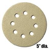 5'' Disk, Hook & Loop, 8 Hole Sanding Disks