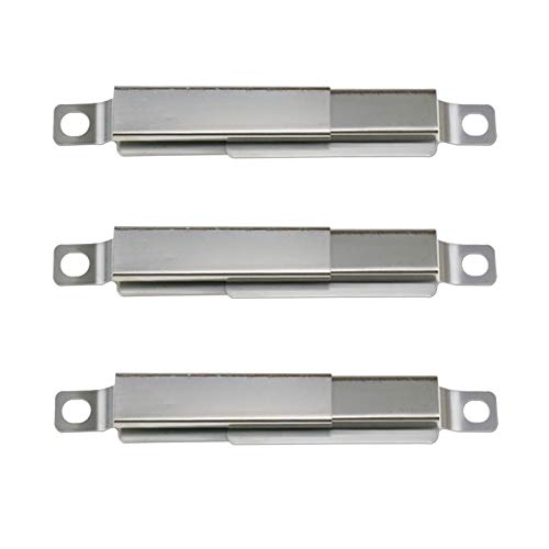 Uniflasy Universal Adjustable Crossover Channel/Tubes Replacement Parts for Nexgrill 720-0830h & Charbroil 463241113, 463449914, 463436215, 463244011, Thermos 461442114