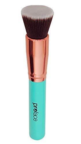 Mypreface Rose Golden Flat Top Kabuki Foundation Makeup for sale  Delivered anywhere in USA