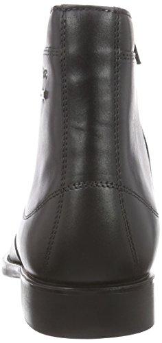 Sioux Dammo-Tex - botas de cuero hombre negro - negro