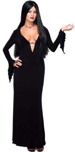 Morticia Addams Adult Costume - Small - Gomez And Morticia Costumes