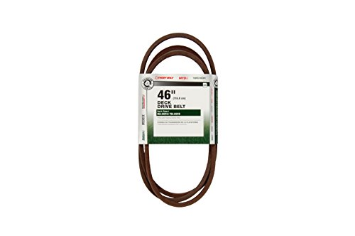 MTD Genuine Parts 46-Inch Deck Drive Belt for Tractors 2009 & (Mtd Tractor Belts)
