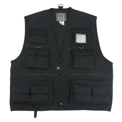 Uncle Milty Black Travel Vest - 4