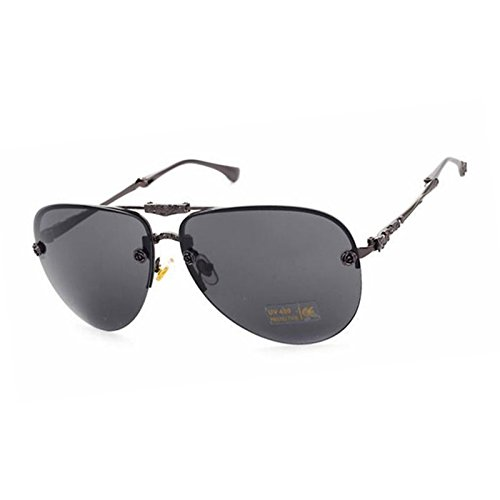 365Cor(TM) New Retro Folding Sunglasses Women Brand Designer Pilot Sun Glasses Woman Vintage Metal Oculos de sol Gafas - Lunettes Sunglasses