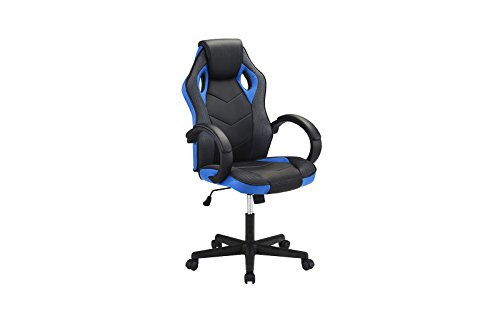 31VS2FECONL - Computer Gaming Chair, Office High Back PU Leather Swivel Computer Chair