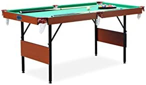 Rack Crucis 5.5-Foot Foldable Billiard Pool Table