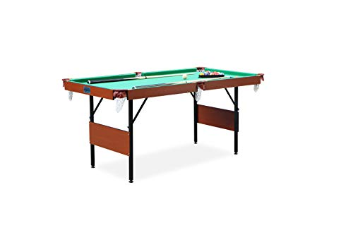 RACK Crucis Folding 5.5-Foot Billiard/Pool Table