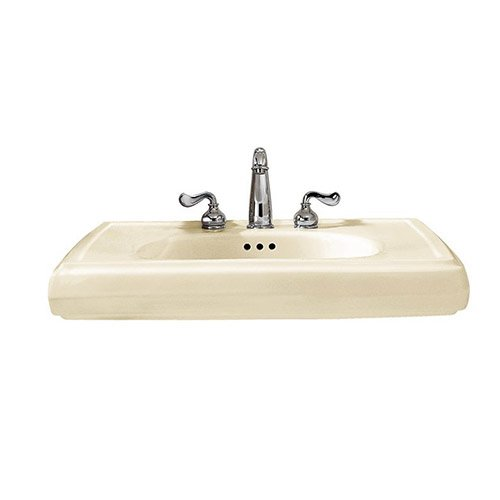 American Standard 0191.643.222 Heritage Pedestal Sink Basin with 8-Inch Faucet Spacing, -