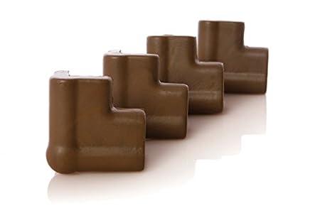 Dreambaby F813 Foam Corner Cushions, 4-Pack (Brown)