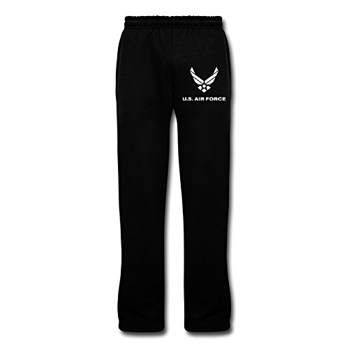 Fengziya The US Air Force Men's Sweatpants Black